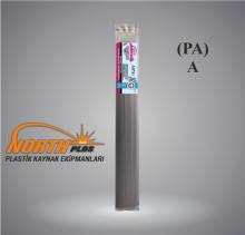 North Plas (A) PA (POLYAMİD)  GENİŞ SİYAH 12 MM (PAKET İÇİ 15 ADET ) Plastik Kaynak Elektrot