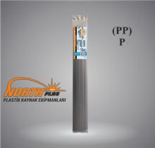 North Plas (PP) POLİPROPİLEN (YUMUŞAK PLASTİK)DAR SİYAH 7 MM (PAKET İÇİ 24 ADET) Plastik Kaynak Elektrot