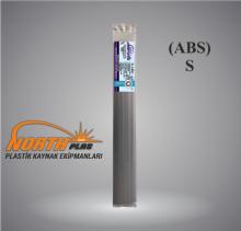 North Plas (S) ABS (SERT PLASTİK) GENİŞ SİYAH (PAKET İÇİ 15 ADET)  Plastik Kaynak Elektrot